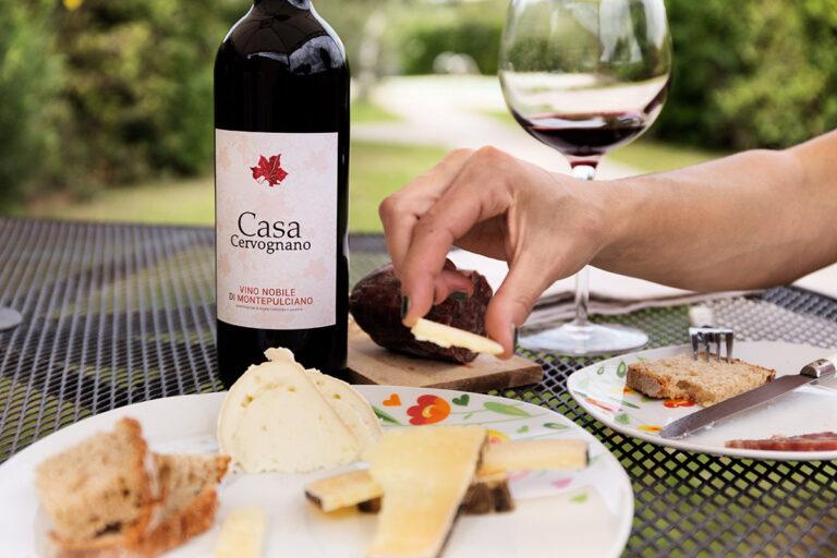 Aperitivo con Vino Nobile di Montepulciano